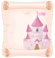 Fairy tale theme parchment vector image vector image