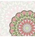 Floral oriental pattern vector image vector image