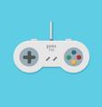 gamepad pixel art vector image vector image