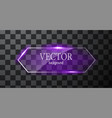 glass button plane easy editable vector image vector image