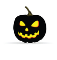 halloween on a white background vector image vector image