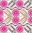 Inca iconography background vector image vector image