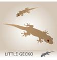 little gecko eps10 vector image vector image