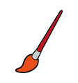 paint brush icon image vector image vector image