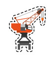 crane icon image vector image