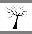 dry tree icon vector image vector image