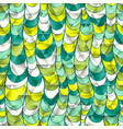hand-drawn color seamless pattern vector image