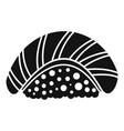 sake sushi icon simple style vector image