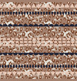 tribal ethnic boho seamless pattern neutral colors vector image vector image