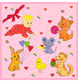 Animals Greeting A Baby vector image vector image