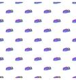Children bumper machine pattern cartoon style vector image vector image
