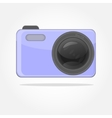 great camera with lens vector image
