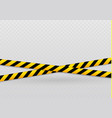 isolated lines of insulation realistic warning vector image