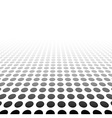 Perspective textured surface vector image vector image