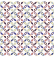 Seamless bright geometric circle pattern vector image vector image
