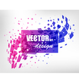 Abstract colorful business layout vector image