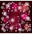 2016 Winter Background vector image