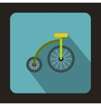 Bicycle for children icon flat style vector image vector image