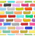 Brick wall colorful sketch for your design vector image