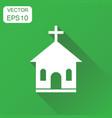 church sanctuary icon business concept church vector image vector image