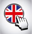 england button vector image vector image