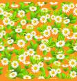 floral big summer vector image