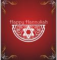 Hanukkah poster vector image