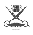 vintage barber shop logos labels badges design vector image vector image