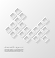 Abstract modern geometric background vector image vector image