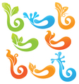all about nature vector image