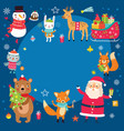 christmac holidays background vector image vector image