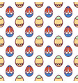 easter eggs seamless pattern12 vector image vector image