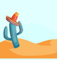 mexican tourism concept vector image
