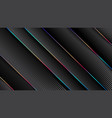minimal geometric abstract black backgroundpaper vector image vector image