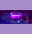 neon glowing lines background vector image vector image