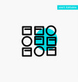 pattern system data science pattern system vector image