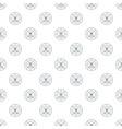tattoo art pattern seamless vector image