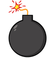 Black bomb vector | Price: 1 Credit (USD $1)
