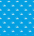 high sea wave with foam pattern seamless vector image vector image