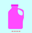 household chemicals set it is color icon vector image vector image