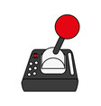 joystick gamepad device vector image vector image