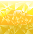 Light abstract polygonal background vector image vector image