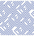 linear pattern background with outline squares vector image