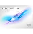Pixel Art vector image vector image