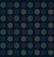 snowflake symmetry seamless pattern vector image