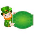 St Patricks Leprechaun vector image vector image