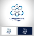 Water Logo Design Creative vector image