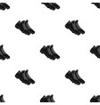 baseball sneakers baseball single icon in black vector image vector image