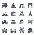 Landmark Icon vector image