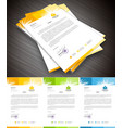 Letterhead vector image vector image